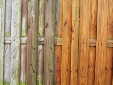 How To Clean A Fence With Your Own Cleaner Solution