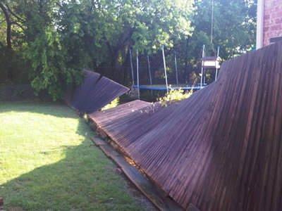 Damaged Fence 10
