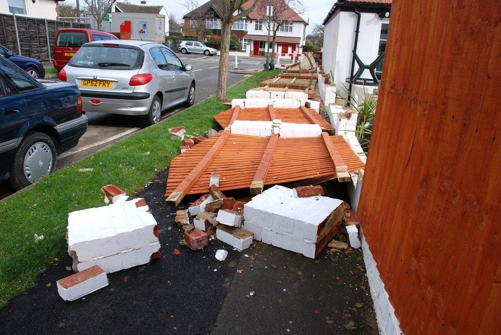 Damaged Fence 9