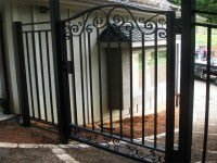 iron decretive gate