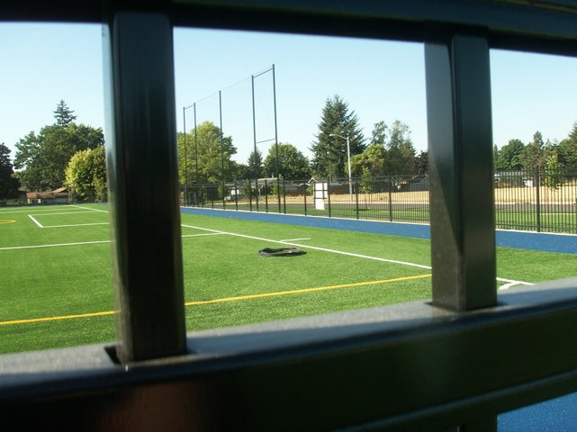 Athletic Field Fence Installation Pacific Fence Amp Wire Co