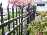 custom metal fence