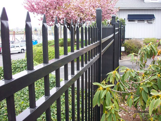 Custom metal fence pacific wire co