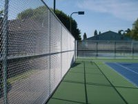 sports fence tennis