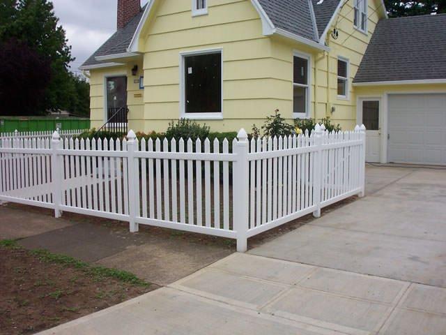 vinyl fences we have installed