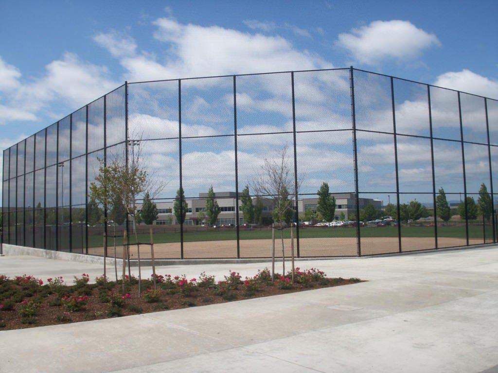 Image Gallery Of Installed Baseball Backstops In Portland Or