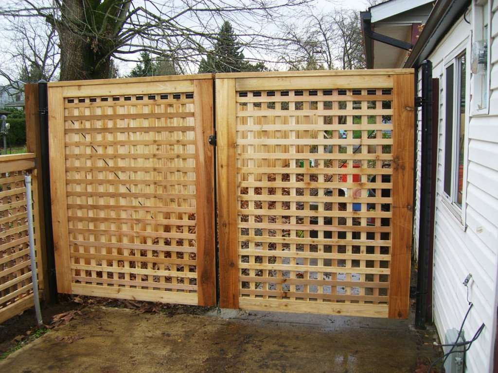Pacific Fence And Wire Co Wood Fence Installation