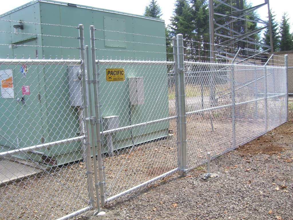 Chain Link Fence Pictures Of Portland Oregon Installations