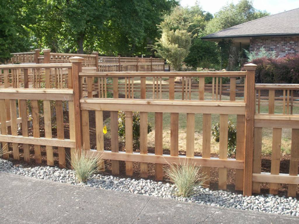 Pacific Fence Photo Gallery Of Installations In Portland Or
