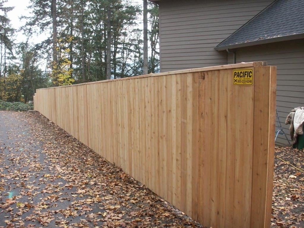 Pictures of installed wood fences in portland oregon konica minolta digital camera baanklon Gallery