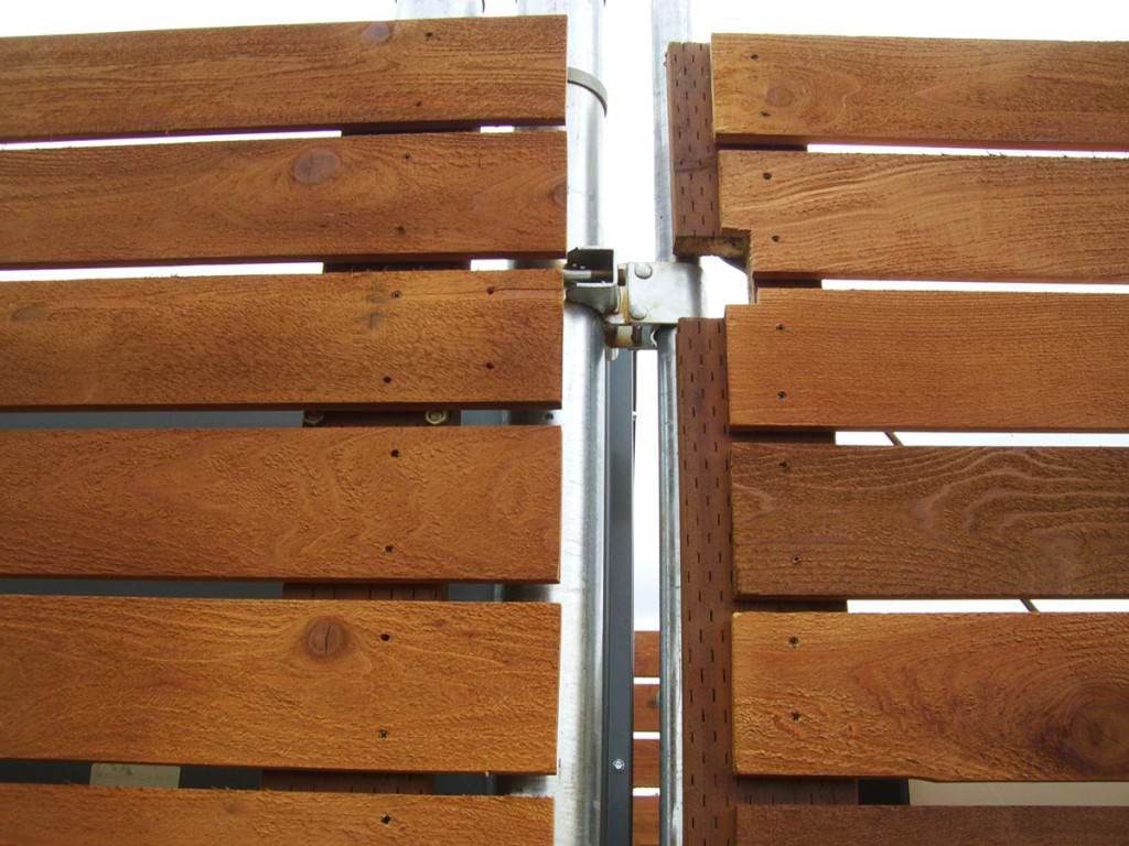 Pictures Of Installed Wood Fences In Portland Oregon