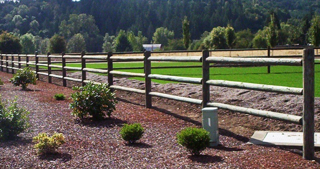 Delighful Wood Rail Fence In Design Inspiration