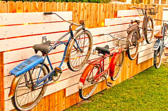bikes-on-wall