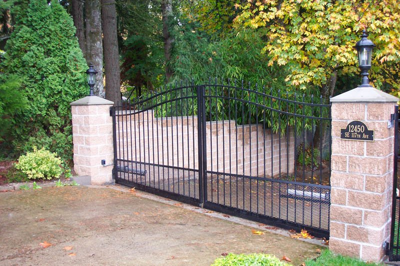 Driveway Gates Pacific Fence Amp Wire Co Portland Or