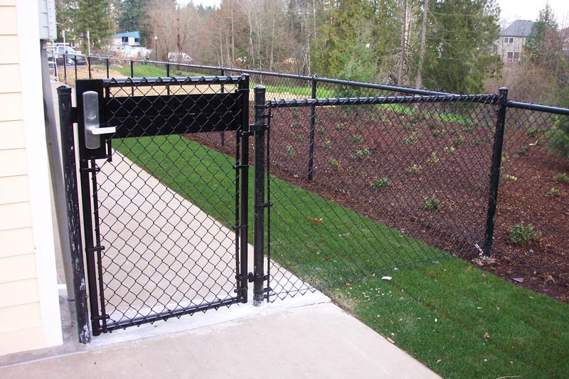 Chain Link Gates Pacific Fence Amp Wire Co