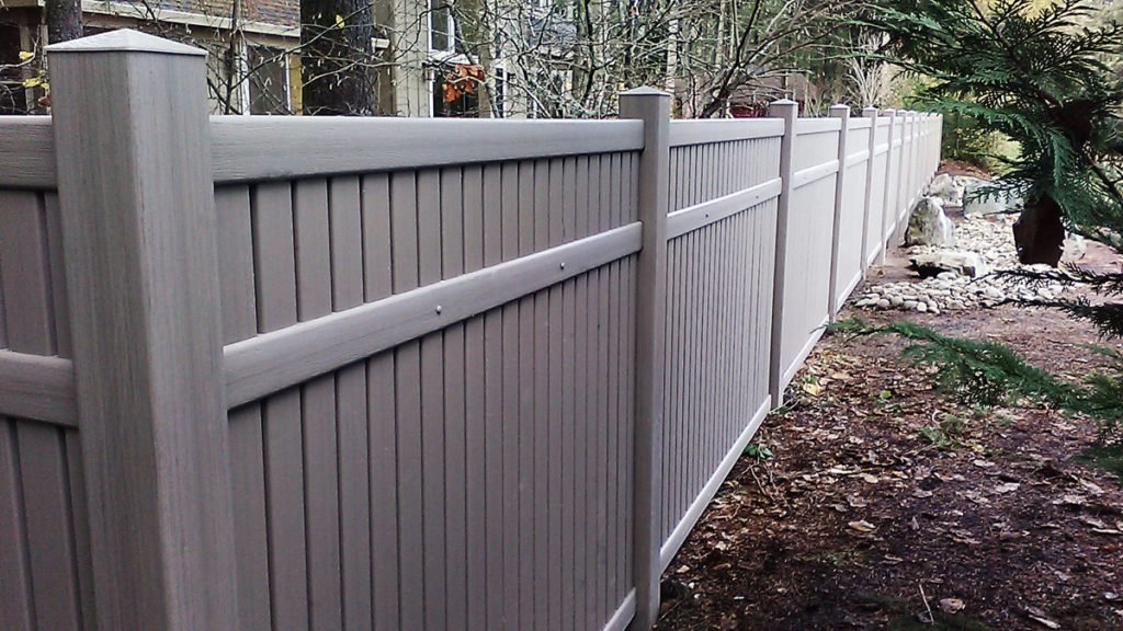 Vinyl Privacy Fence Certainteed Bufftech Pacific Fence