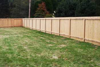 Dog Proof Wooden Fence Pacific Fence in Portland OR