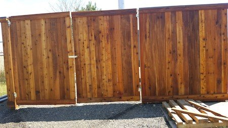 Staining a Wood Fence in Portland OR