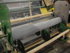 Chain Link Fence Weave Machine
