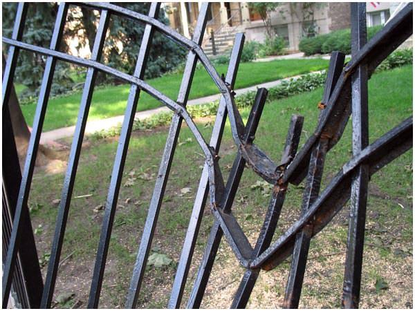 Damaged Fence 2