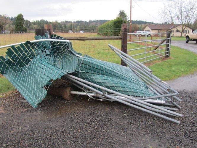 Damaged Fence 7
