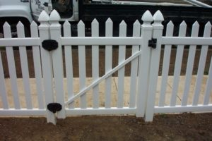 A gate should be easy to use.
