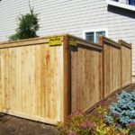 Rot Board Fence