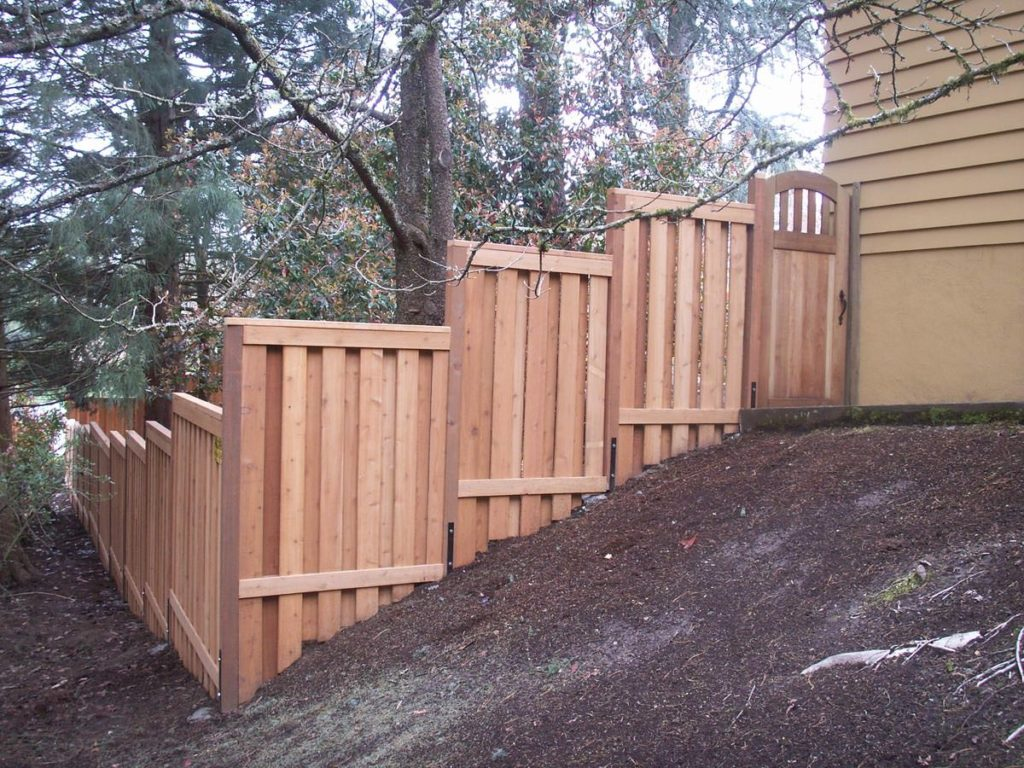 Wooden Fence Installation at its best!